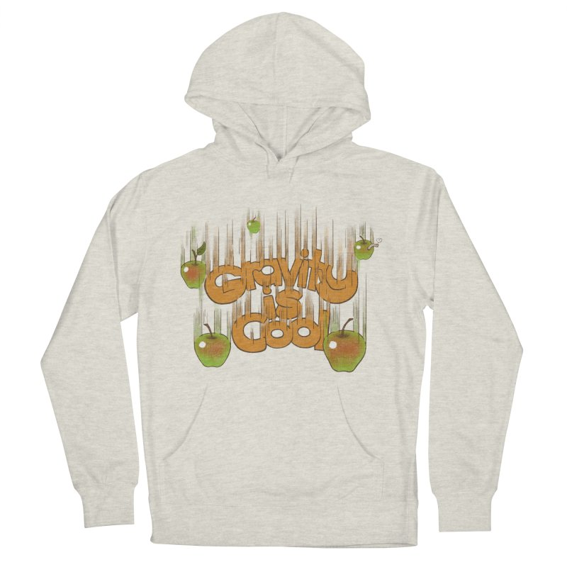 Gravity is cool Men's Pullover Hoody by dudesign's Artist Shop