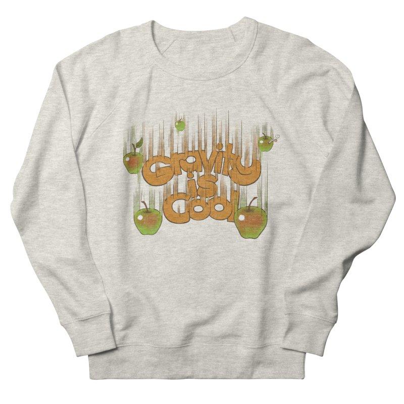 Gravity is cool Men's Sweatshirt by dudesign's Artist Shop