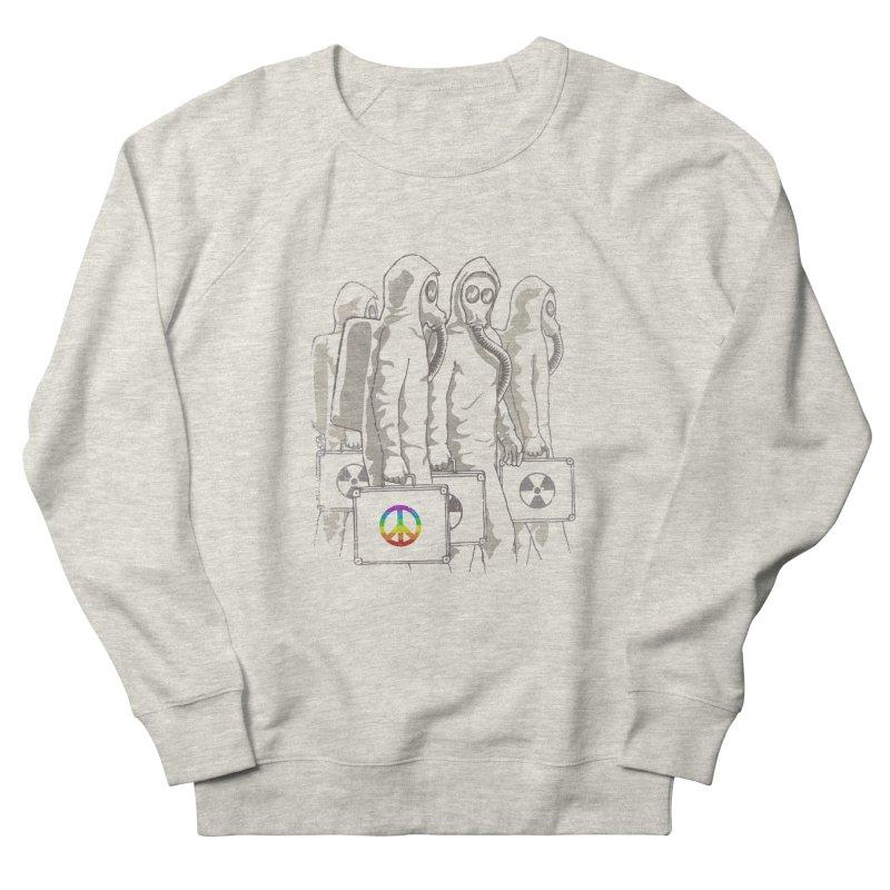 Radioactivist Men's Sweatshirt by dudesign's Artist Shop