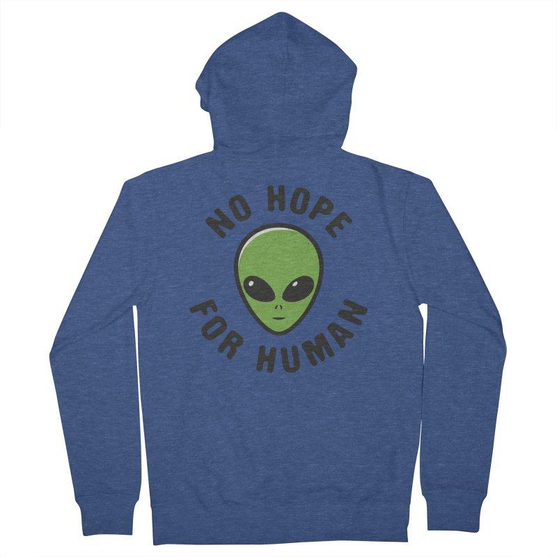 No hope Women's Zip-Up Hoody by dudesign's Artist Shop