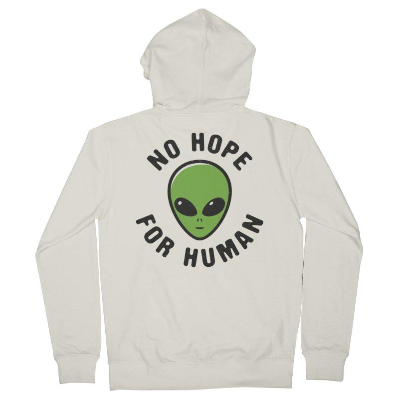 No hope Men's Zip-Up Hoody by dudesign's Artist Shop