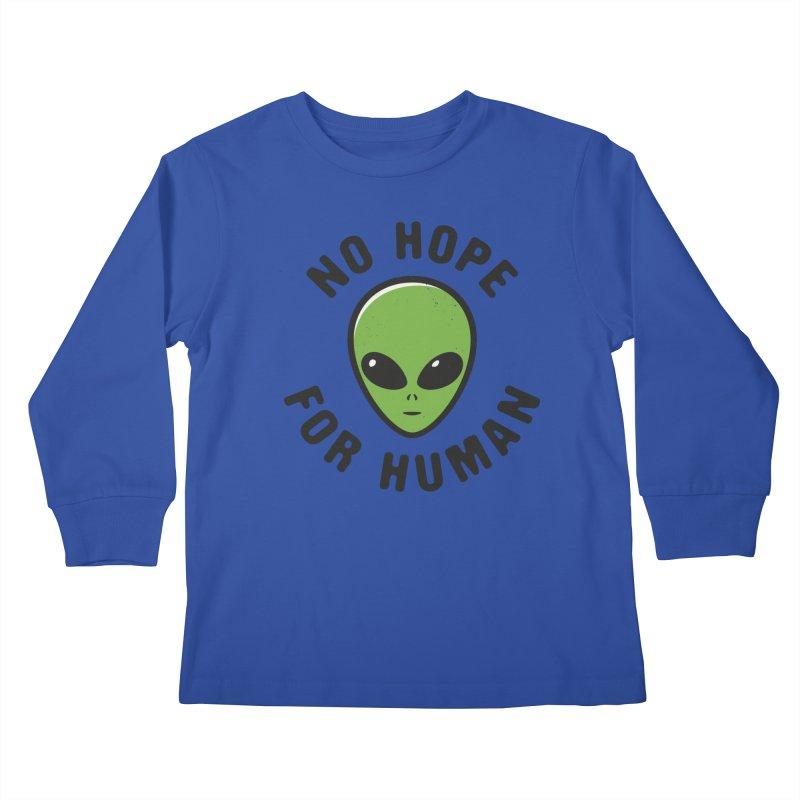No hope Kids Longsleeve T-Shirt by dudesign's Artist Shop