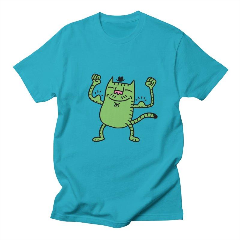 CAT POWER Men's T-shirt by dudmatic's Artist Shop