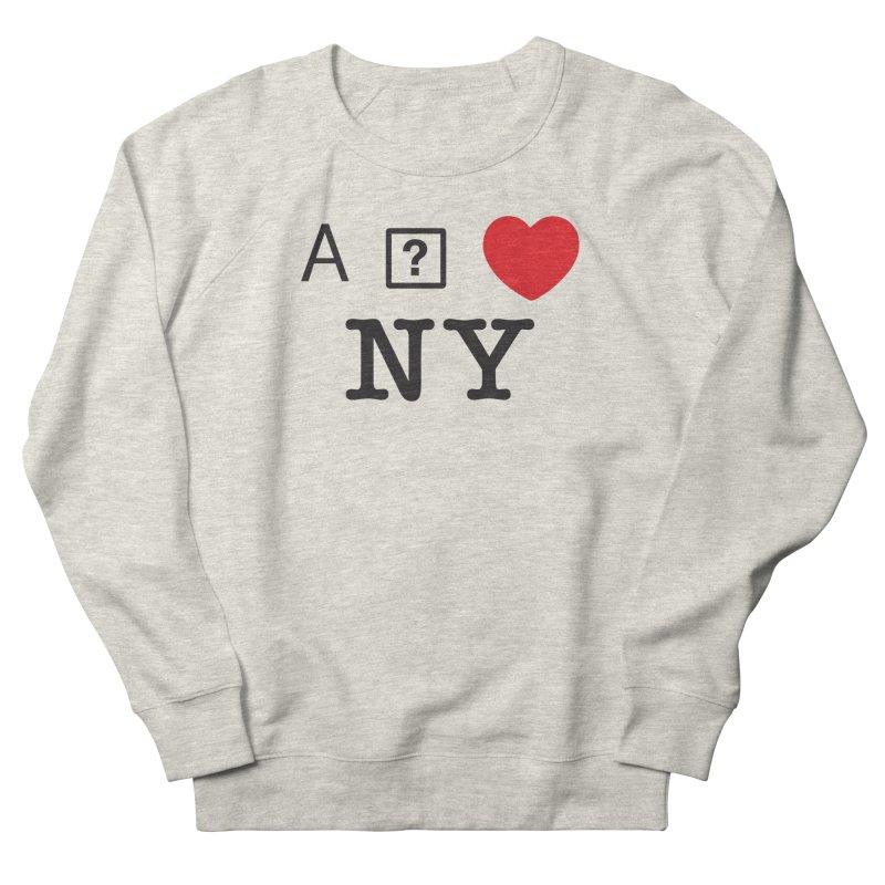I GLITCH NY Men's Sweatshirt by dudmatic's Artist Shop
