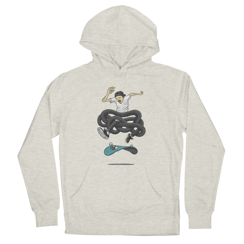 Gnarly Skater Men's Pullover Hoody by dukenny's Artist Shop