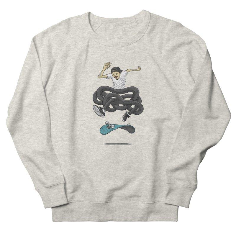 Gnarly Skater Men's Sweatshirt by dukenny's Artist Shop