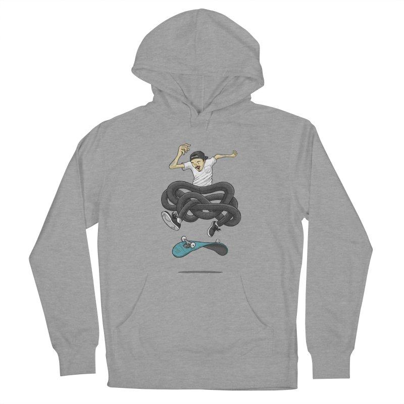 Gnarly Skater Women's Pullover Hoody by dukenny's Artist Shop