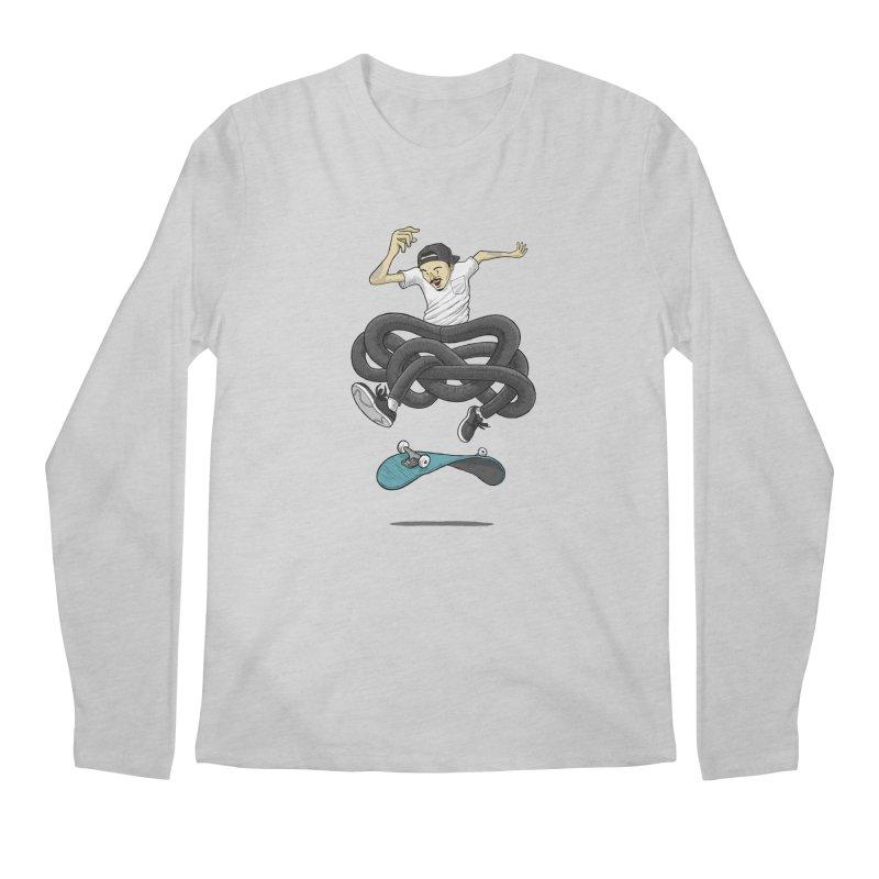 Gnarly Skater Men's Longsleeve T-Shirt by dukenny's Artist Shop