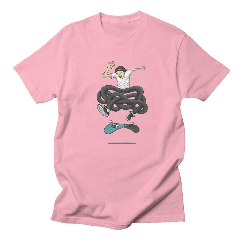 Gnarly Skater Men's T-Shirt by dukenny's Artist Shop