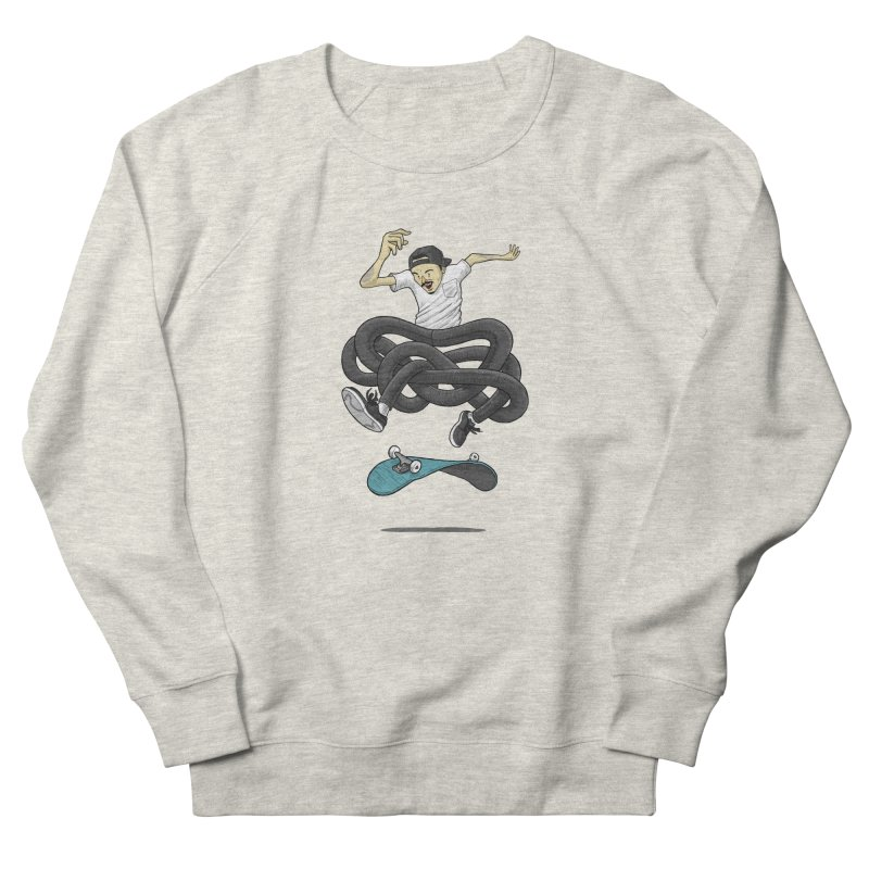 Gnarly Skater Women's French Terry Sweatshirt by dukenny's Artist Shop