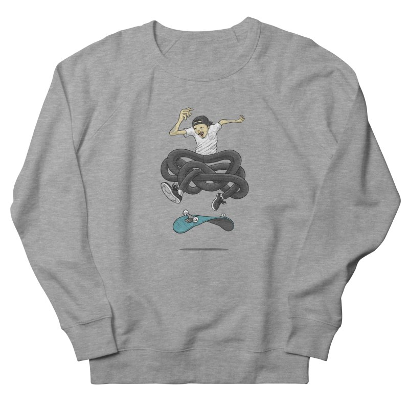 Gnarly Skater Men's French Terry Sweatshirt by dukenny's Artist Shop