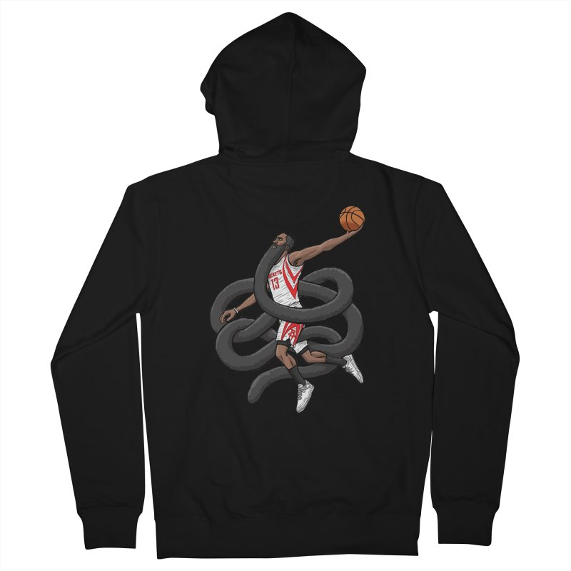 Gnarly Beard Men's Zip-Up Hoody by dukenny's Artist Shop