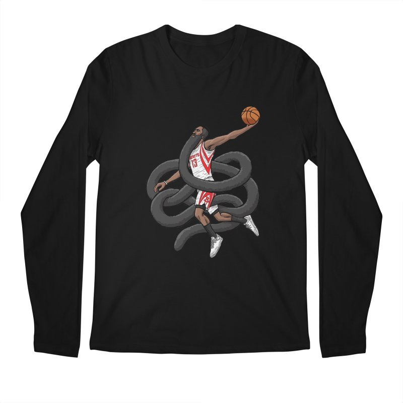 Gnarly Beard Men's Longsleeve T-Shirt by dukenny's Artist Shop