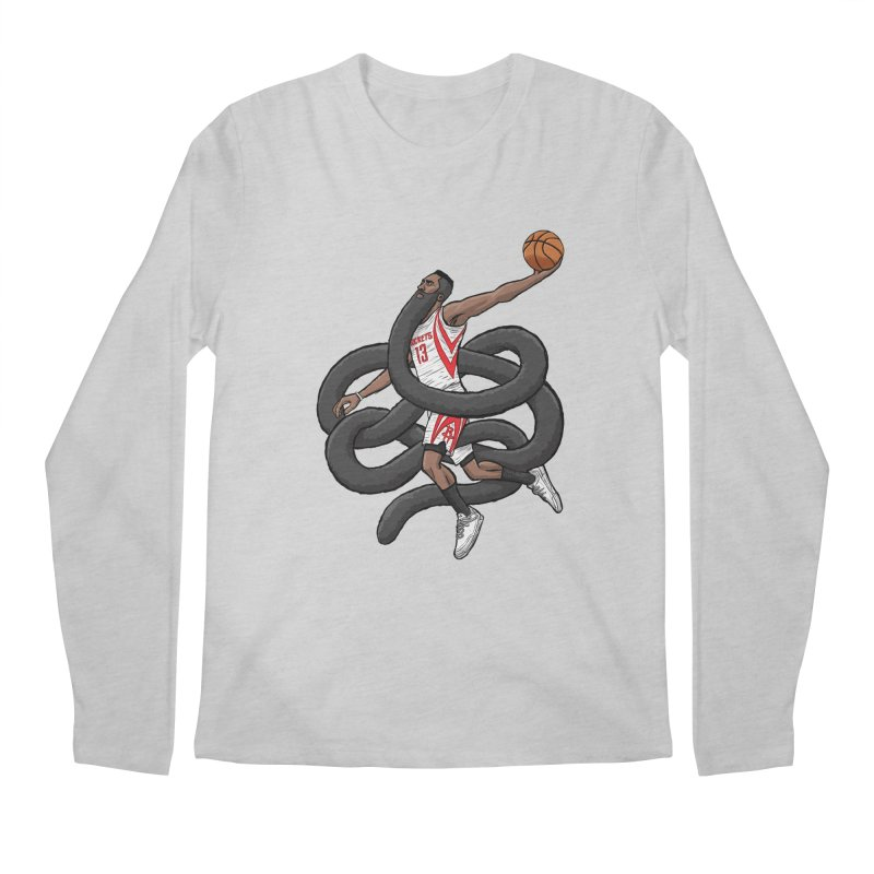 Gnarly Beard Men's Regular Longsleeve T-Shirt by dukenny's Artist Shop