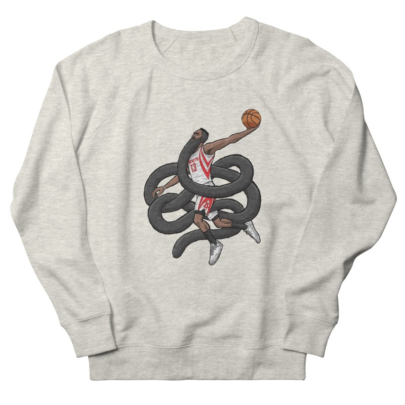 Gnarly Beard Men's French Terry Sweatshirt by dukenny's Artist Shop