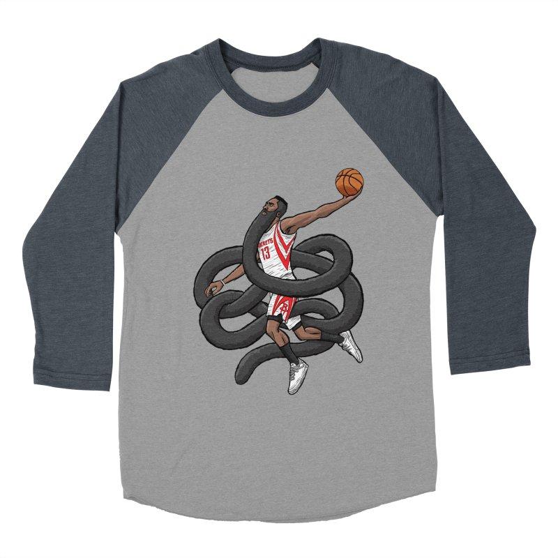 Gnarly Beard Women's Baseball Triblend T-Shirt by dukenny's Artist Shop