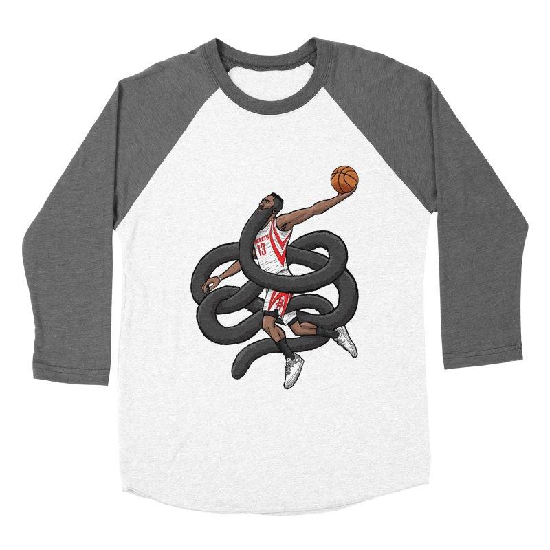 Gnarly Beard Men's Baseball Triblend Longsleeve T-Shirt by dukenny's Artist Shop