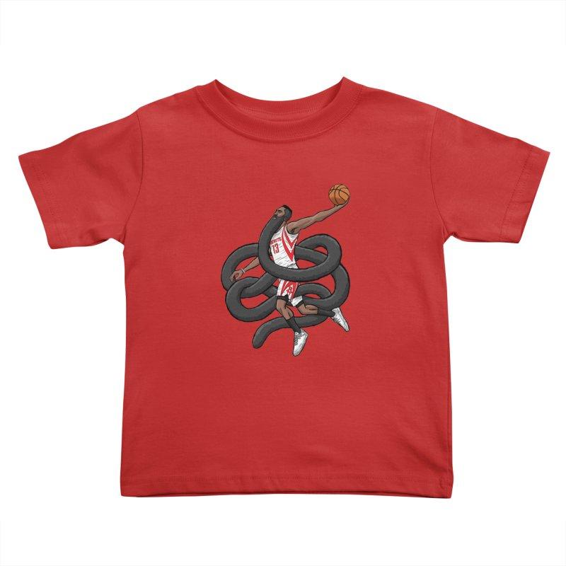 Gnarly Beard Kids Toddler T-Shirt by dukenny's Artist Shop