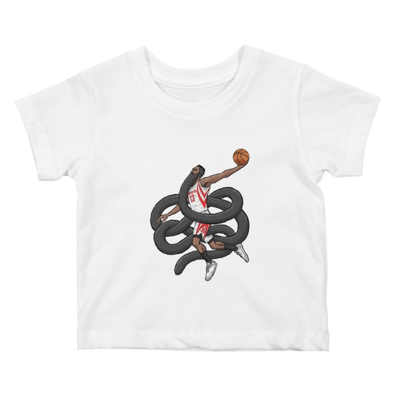 Gnarly Beard Kids Baby T-Shirt by dukenny's Artist Shop