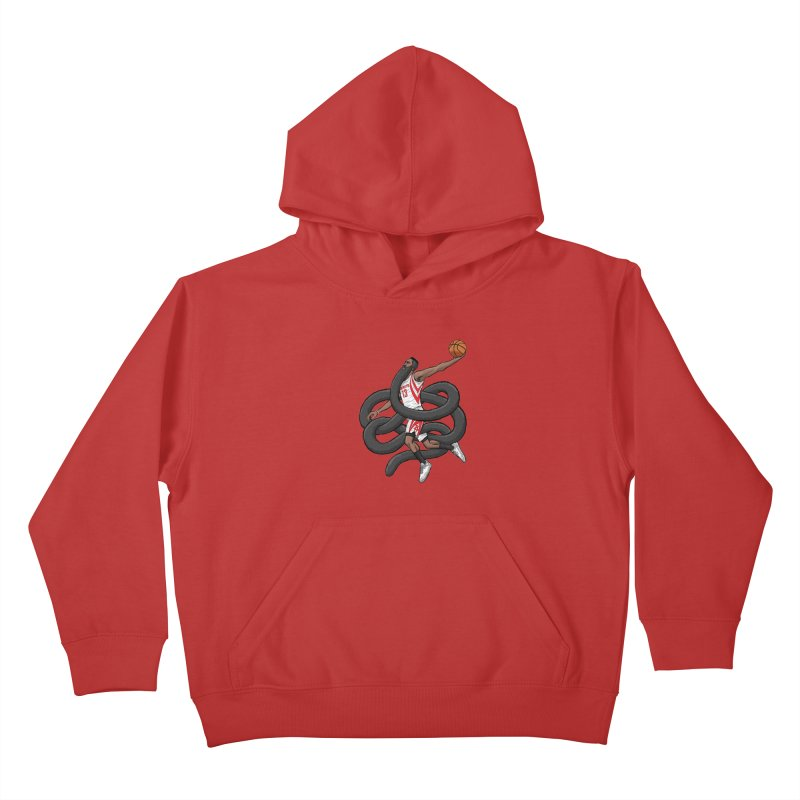 Gnarly Beard Kids Pullover Hoody by dukenny's Artist Shop