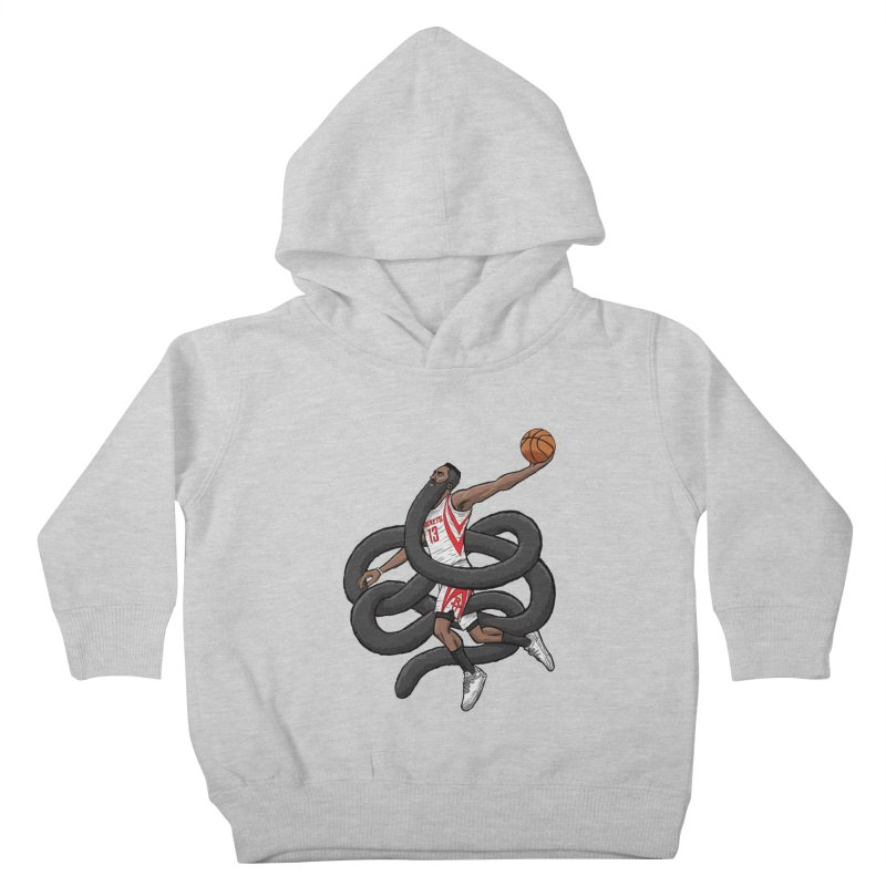 Gnarly Beard Kids Toddler Pullover Hoody by dukenny's Artist Shop