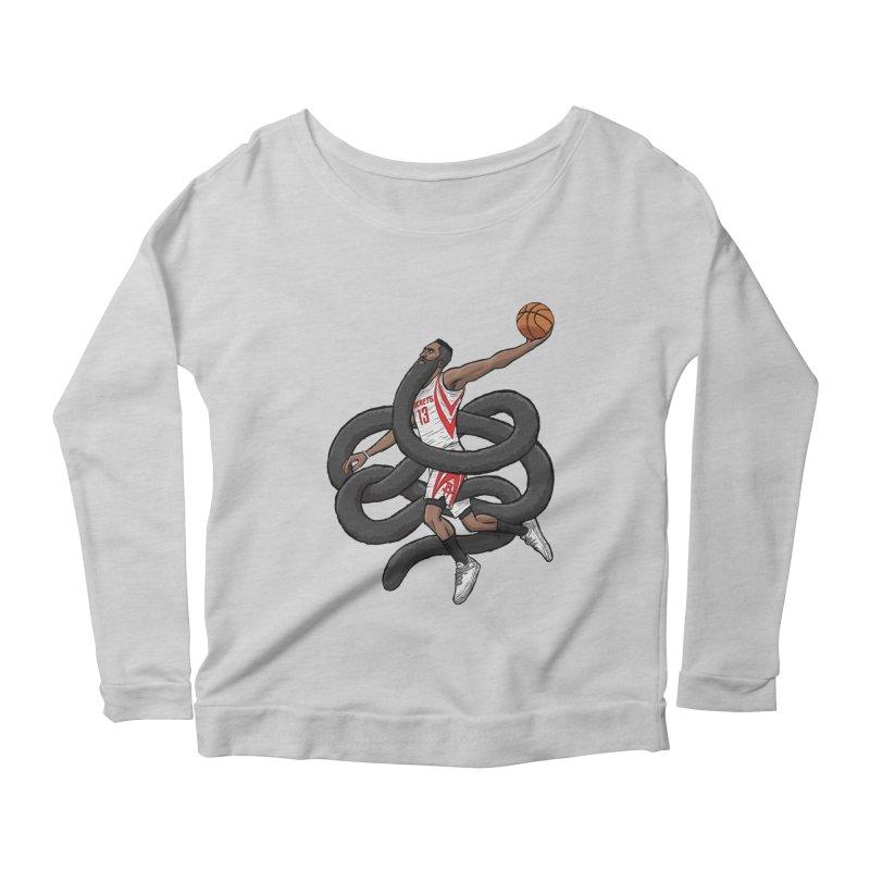 Gnarly Beard Women's Scoop Neck Longsleeve T-Shirt by dukenny's Artist Shop