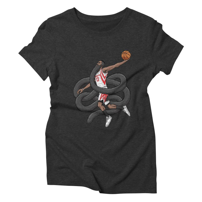 Gnarly Beard Women's Triblend T-Shirt by dukenny's Artist Shop