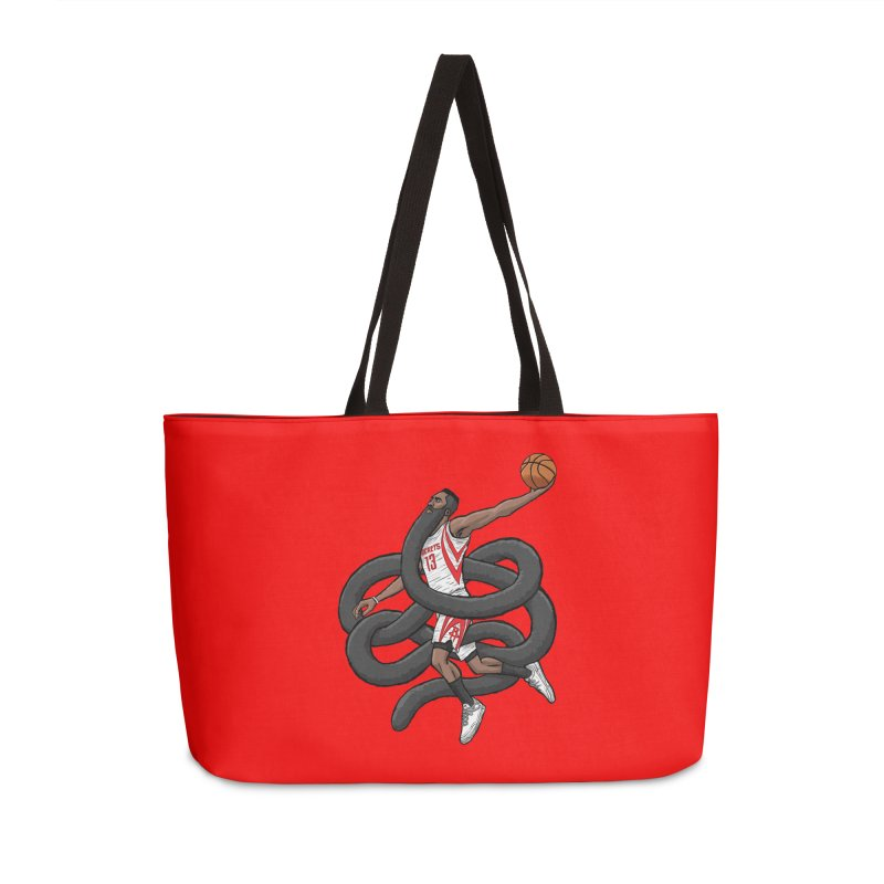 Gnarly Beard Accessories Weekender Bag Bag by dukenny's Artist Shop