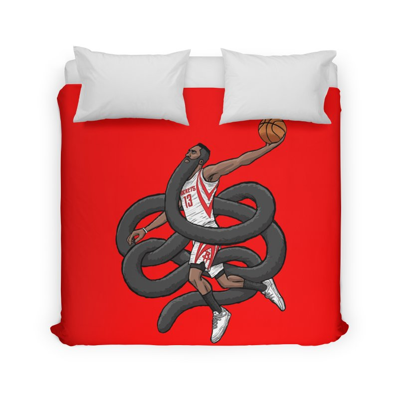 Gnarly Beard Home Duvet by dukenny's Artist Shop