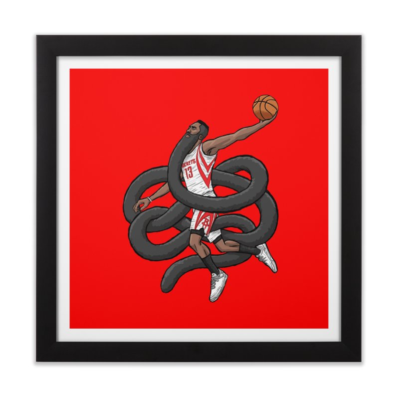 Gnarly Beard Home Framed Fine Art Print by dukenny's Artist Shop
