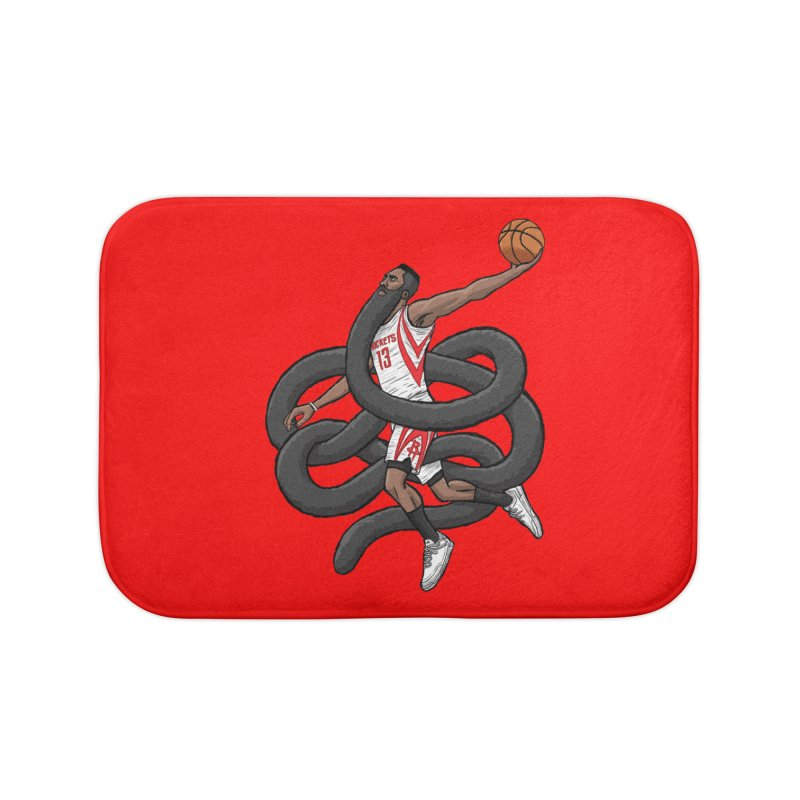 Gnarly Beard Home Bath Mat by dukenny's Artist Shop