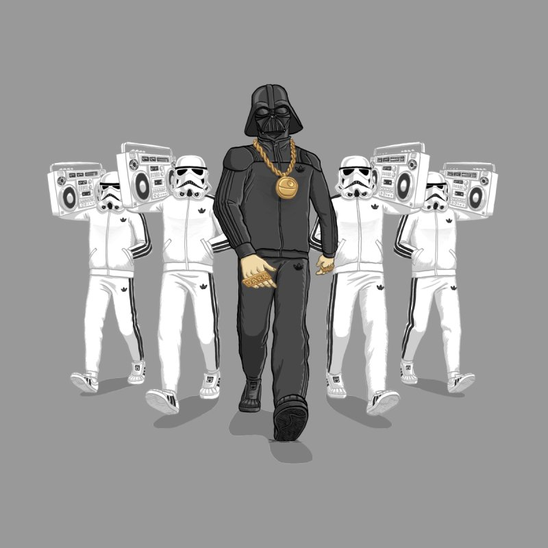 Straight Outta The Dark Side by dukenny's Artist Shop