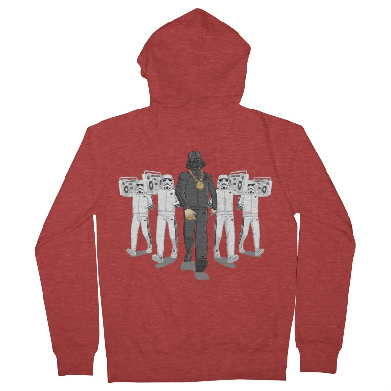 Straight Outta The Dark Side Women's French Terry Zip-Up Hoody by dukenny's Artist Shop