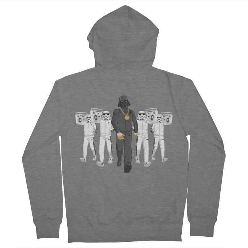 Straight Outta The Dark Side Men's French Terry Zip-Up Hoody by dukenny's Artist Shop