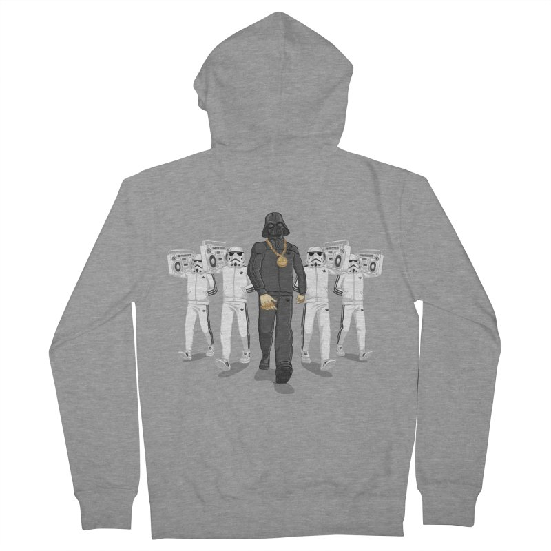 Straight Outta The Dark Side Men's Zip-Up Hoody by dukenny's Artist Shop