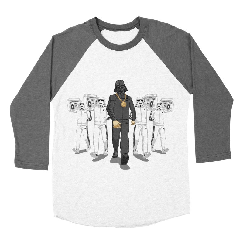 Straight Outta The Dark Side Women's Baseball Triblend Longsleeve T-Shirt by dukenny's Artist Shop