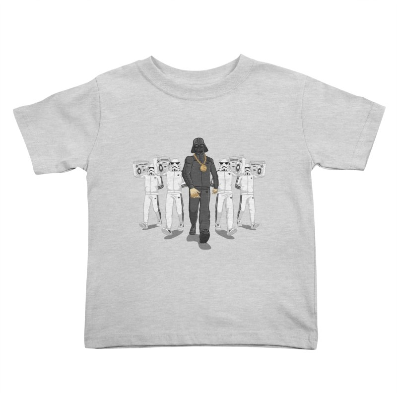 Straight Outta The Dark Side Kids Toddler T-Shirt by dukenny's Artist Shop