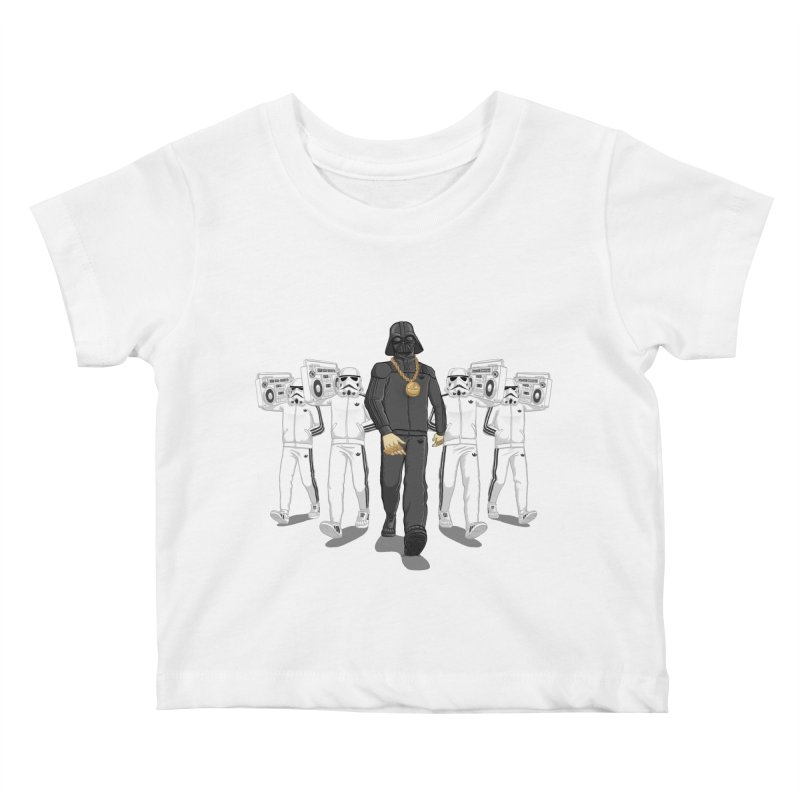 Straight Outta The Dark Side Kids Baby T-Shirt by dukenny's Artist Shop