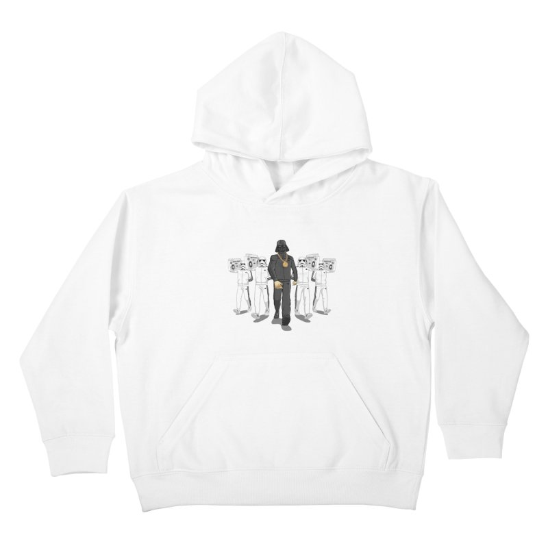 Straight Outta The Dark Side Kids Pullover Hoody by dukenny's Artist Shop