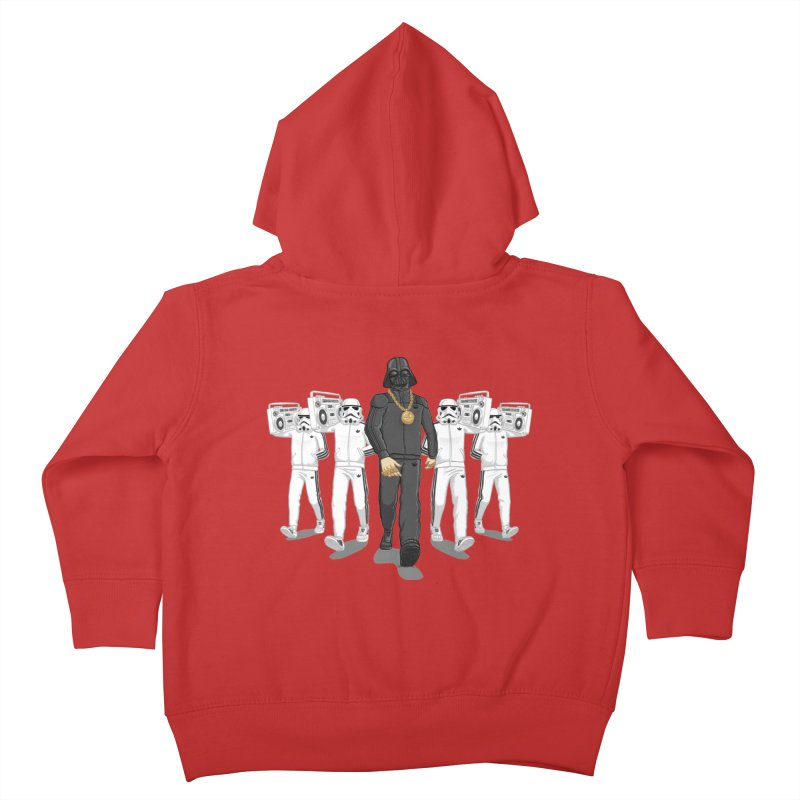 Straight Outta The Dark Side Kids Toddler Zip-Up Hoody by dukenny's Artist Shop