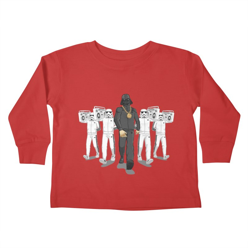 Straight Outta The Dark Side Kids Toddler Longsleeve T-Shirt by dukenny's Artist Shop