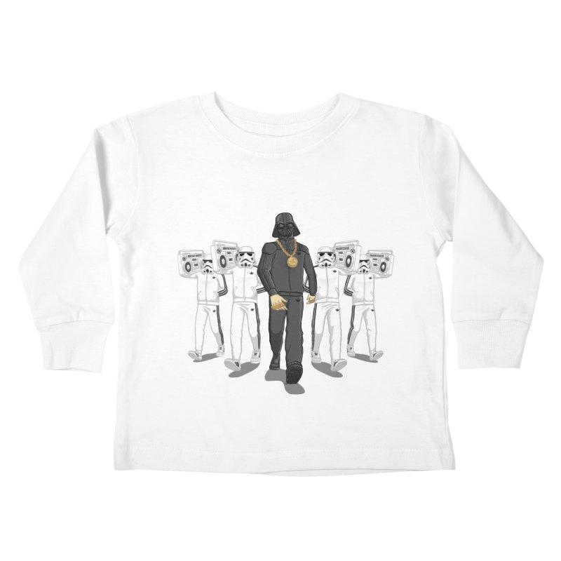 Straight Outta The Dark Side Kids Toddler Longsleeve T-Shirt by dukenny's Artist Shop