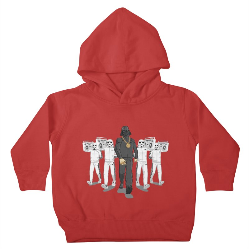 Straight Outta The Dark Side Kids Toddler Pullover Hoody by dukenny's Artist Shop