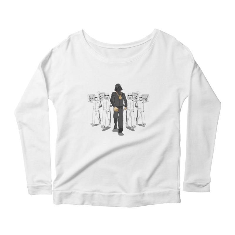 Straight Outta The Dark Side Women's Scoop Neck Longsleeve T-Shirt by dukenny's Artist Shop