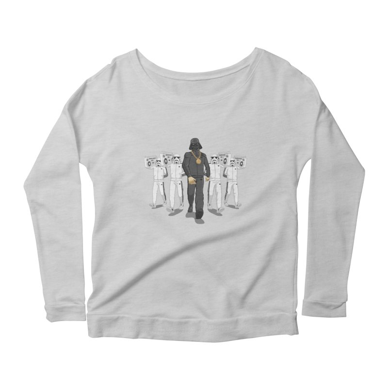 Straight Outta The Dark Side Women's Longsleeve Scoopneck  by dukenny's Artist Shop