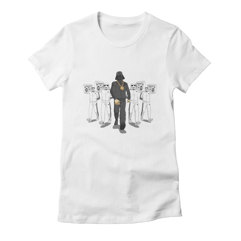 Straight Outta The Dark Side Women's Fitted T-Shirt by dukenny's Artist Shop