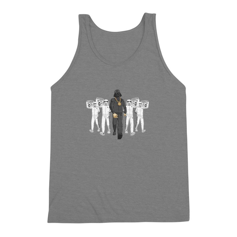 Straight Outta The Dark Side Men's Triblend Tank by dukenny's Artist Shop