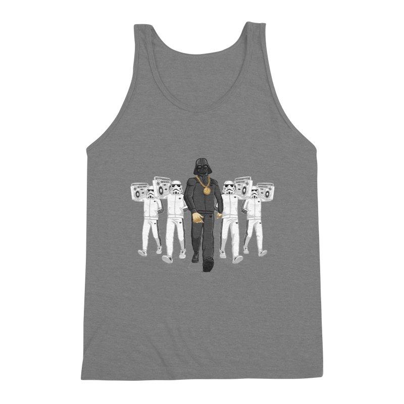 Straight Outta The Dark Side Men's Triblend Tank by dukenny's Artist Shop