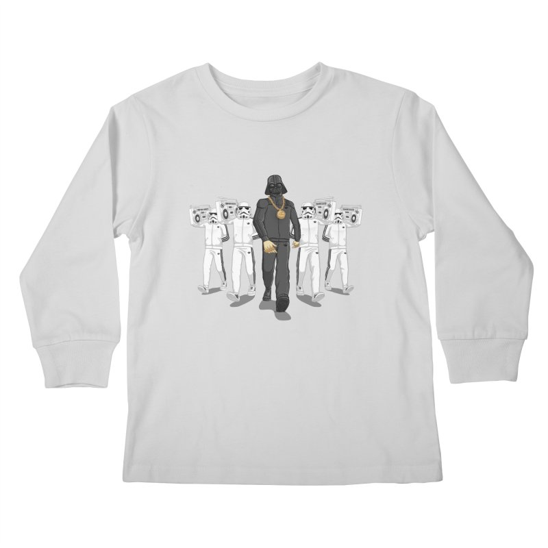 Straight Outta The Dark Side Kids Longsleeve T-Shirt by dukenny's Artist Shop