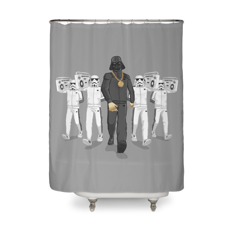 Straight Outta The Dark Side Home Shower Curtain by dukenny's Artist Shop